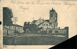 KAUNAS Centre Et Eglise  ( Manque Le Coin Bas Gauche) - Lituanie