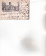 """CPA 13 ARLES, Chapelle St-Honorat Des Alyscamps.(1901) Carte """"pionnière"""".) - Arles"""