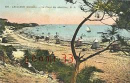 CPA.Arcachon .les Abatilles.la Plage.ed:MD Num 606 - Arcachon