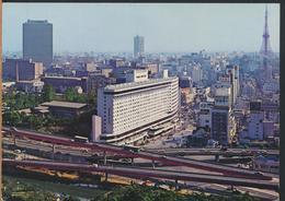 °°° 13284 - JAPAN - AKASAKA , TOKYO - 1970 With Stamps °°° - Tokyo