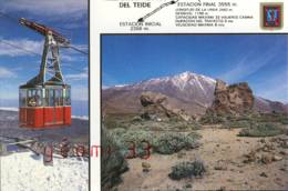 CPM.las Canñadas Del Teide.ed:escudo De Oro Num:370 - Tenerife