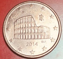 ITALIA - 2014 - Moneta - Anfiteatro Flavio (Colosseo) - Euro - 0.05 - Italie