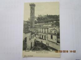 CPA Italie FIESOLE - Palazza Dell'esposizione Permanente Di Lavori In Paglia E Campanile Della Cattedrale - Italia