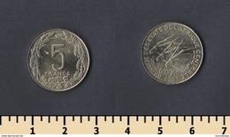 Central Africa (BEAC) 5 Francs 2003 - Autres – Afrique