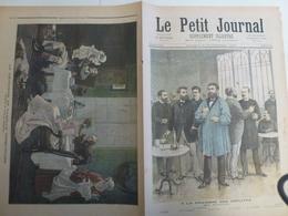 Journal Le Petit Journal 102 5 Novembre 1892 Chambre Des Députés Déjeuner Camille Desmoulins - 1850 - 1899