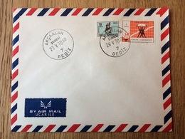 Turkey - Turquie - Türkei 1968 + 1969, Air Mail Cover - 1921-... Republiek