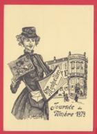 CPM-34-MONTPELLIER - Journée Du Timbre 1979 - Correspondance Philatélique** 2 SCANS - Montpellier