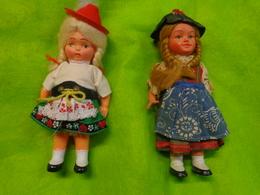 Lot De 2 Poupée Dansante Avec Mouvement Mécanique (sans Cle) Automate - Dolls