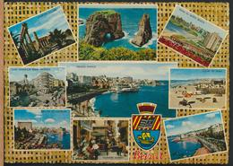 °°° 13286 - LIBAN - GREETINGS FROM BEIRUT BEYROUTH - 1969 With Stamps °°° - Tailandia
