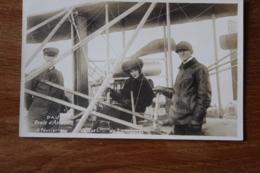 Cpa Pau Ecole D'aviation 15 Fevrier 1909   Le Comte Et La Comtesse  De Lambert  Avion - Pau