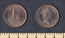 Gibraltar 2 Pence 1995 - Gibraltar