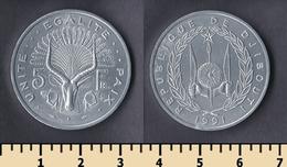 Djibouti 5 Francs 1991 - Djibouti