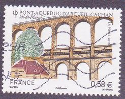 4503 France 2010 Oblitéré  Pont Aqueduc De Arcueil Cachan 94 Val De Marne - France