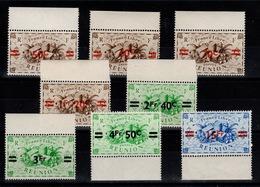 Reunion YV 252 à 259 N** BdF Serie De Londres Surchargée Cote 5,10+ Euros - Réunion (1852-1975)