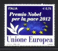 ITALIEN MI-NR. 3585 ** - MITLÄUFER 2012 VERLEIHUNG DES FRIEDENSNOBELPREISES AN DIE EU - Idées Européennes