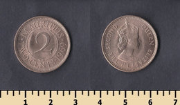 Mauritius 2 Cents 1969 - Maurice
