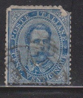 ITALY Scott # 48 Used - Top Right Corner Missing - Used