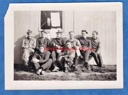 Photo Ancienne Snapshot - BREST ( Finistère ) - Le Poste Des Aviateurs - Portrait De Marin - Marine Nationale - Guerre, Militaire