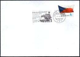 CZECH REPUBLIC 2017 - GABRIELA KOUKALOVA - WORLD CHAMPIONSHIP OF BIATHLON - 7.5 SPRINT - HOCHFILZEN 2017 - Inverno