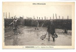 CHERRUEIX - Intérieur D'une Pêcherie - Francia