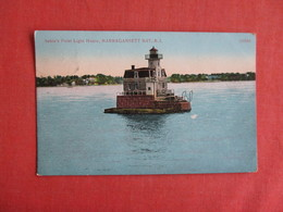 Sabin's Point Light House Narragansett Bay - Rhode Island  Ref 3151- - Stati Uniti
