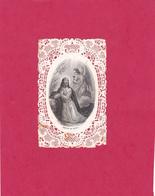 """IMAGE RELIGIEUSE -""""CANIVET"""" XIXème -""""AGONIA De JESUS"""" -Edit. TONY à Meulan- Dim. : 10,5cm X 6,5cm. - (3-2-19) - Devotieprenten"""