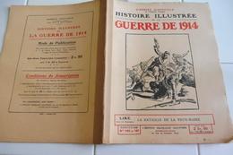 140 141-Histoire Illustrée Guerre 1914-FERME DE LA  VAUX MARIE-REVIGNY-TROYON-LOUPPY LE CHATEAU-ISLETTES-CLERMONT EN ARG - Revues & Journaux