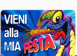 KINDER FERRERO - CARD - VIENI ALLA MIA FESTA - Kinder & Diddl