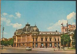 °°° 13291 - ROMANIA - BUCURESTI BUCAREST - BIBLIOTECA CENTRALA - 1975 With Stamps °°° - Romania