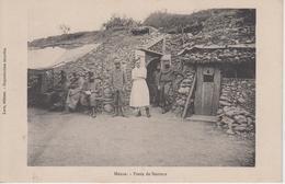 CPA Guerre 14-18 - Meuse - Poste De Secours (avec Jolie Animation) - Guerre 1914-18