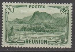 Reunion 1933 Piton D'anchain 1f Vert  YT 140 Neuf ** - Réunion (1852-1975)