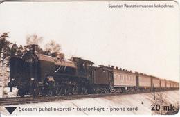 FINLAND - Steam Train, Turun Puhelin Telecard, Tirage 21900, Exp.date 06/01, Used - Finlande
