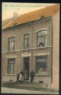 X05 - Assche - Huis F. Van Kiel Kruideniershandel Assche Walfergem - Gebruikt 1910 - Asse