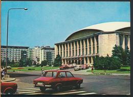 °°° 13292 - ROMANIA - BUCURESTI BUCAREST - SALA PALATULUI - 1975 With Stamps °°° - Romania