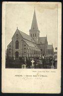 X05 - Assche - Groote Kerk / L'Eglise - Louis Van Neck Anvers - Gebruikt 1906 - Asse