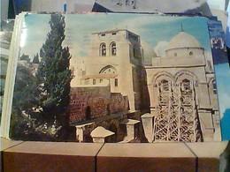 ISRAEL ISRAELE JERUSALEM HOLY SEPULCHRE SEPOLCRO CHIESA VB1970 HA7697 - Israele