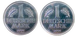 02983 GETTONE TOKEN JETON REPRO COIN ALU 1 MARK 2001 - Allemagne