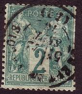 62 - 2c Vert Sage Type I - 1876-1878 Sage (Type I)