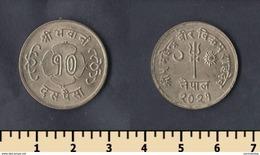 Nepal 10 Paisa 1964 - Népal