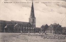 Borgloon De Kerk Gemeente School Looz L'Eglise L'ecole Communale - Borgloon