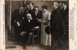 CPA Salon De Paris. MLLE M. GARAY Portrait De M. Bonnat (707060) - Pittura & Quadri