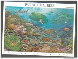 USA. Scott # 3831a-j, MNH Sheet Of 10. Pacific Coral Reef Nature 2004 - Sheets