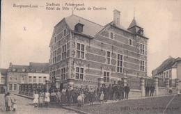 Borgloon Looz Stadhuis Achtergevel Hôtel De Ville Façade De Derrière - Borgloon