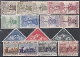 1930   Edifil Nº 531 / 546  /*/ - 1889-1931 Reino: Alfonso XIII