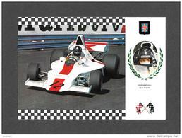 SPORTS -  AUTOMOBILE - COURSE - RACING - GRANDE BRETAGNE - Graham Hill - Shadow DN1/3A Cosworth - Serie Gran Prix No 66 - Sport Automobile
