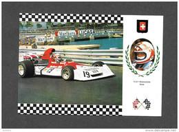 SPORTS SPORT AUTOMOBILE - COURSE - SÉRIE GRAN PRIX  No 70 - CLAY REGAZZONI - SUIZA - BRM P 160/07 MOTOR BRM V12 3000 Cm3 - Sport Automobile