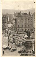 Dblin : Westmoreland Street From O'Connell Bridge ( Tram ) 1948 - Dublin