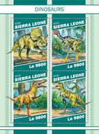 SIERRA LEONE 2018 - Dinosaurs. Official Issue - Prehistorisch