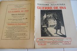 220-221-222 223-L'Histoire Illustrée Guerre 1914 Victoire-Armistice-Sambre-Oise-Chesne Buzancy-Lorraine-Prisonniers- - Revues & Journaux