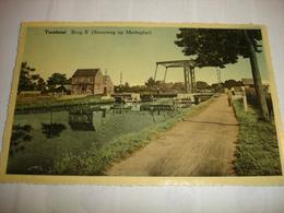 CPA - TURNHOUT ( ANTWERPEN ) - BRUG II - STEENWEG OP MERKSPLAS - Turnhout
